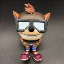CRASH BANDICOOT model toy with Jetpack Special Edition Figure Vinyl Action Collectible Model Toy for gift doctor strange bobble head vinyl figure collectible model toy