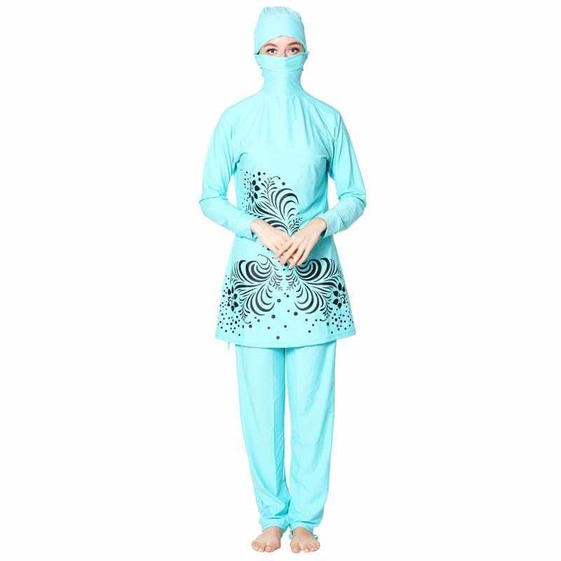 Shehang Hồi Giáo Bơi Mặc Đi Biển Hồi Giáo Đồ Bơi Tin Plus Kích Thước Burkinis Khiêm Tốn Quần Áo Hồi Giáo Hồi Giáo Đồ Bơi Bơi