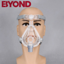 Byond CPAP Full Face Mask With Adjustable Headgear Clips For Medical Breathing Machine Ventilator  Sleep Apnea Anti Snoring