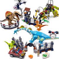 Jurassic Welt Brutal Raptor Bausteine Jurrassic Welt 2 Dinosaurier Abbildung Ziegel Kompatibel legoinglys Spielzeug Für Kinder dino