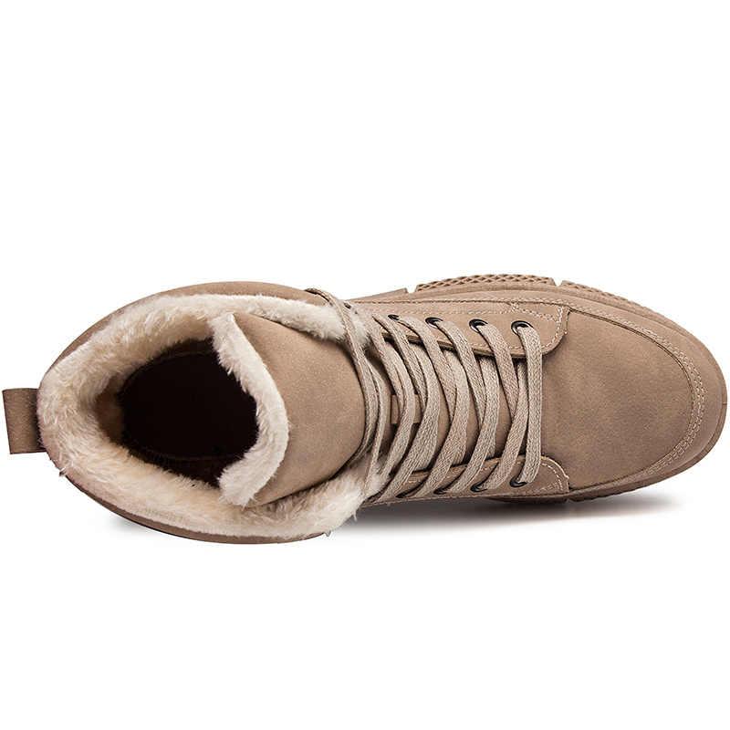 VESONAL Merk Casual Man Schoenen Voor Volwassen Warme Snowboots 2019 Winter Nieuwe Mode Kwaliteit Vintage Mannen Schoenen Schoeisel Nieuwe collectie