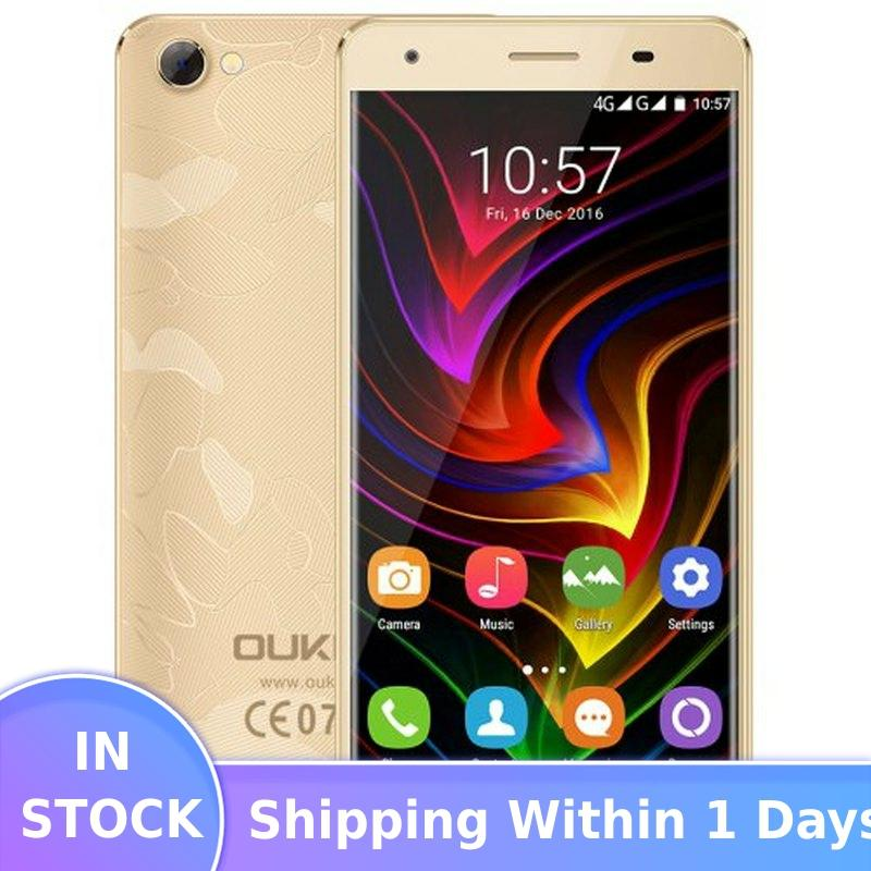 OUKITEL C5 PRO SmartPhone 2GB RAM 16GB ROM 5.0 4G LTE Telephone MTK6737 Quad Core Android 6.0 2000MAH WIFI GPS Mobile Phone image