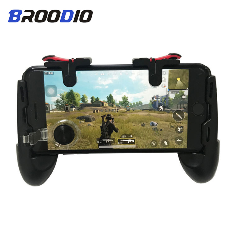 PUBG Moible Controller Gamepad Free Fire L1 R1 Triggers 5 in 1 PUBG Mobile Game Pad Grip L1R1 Joystick For iPhone Android Phone