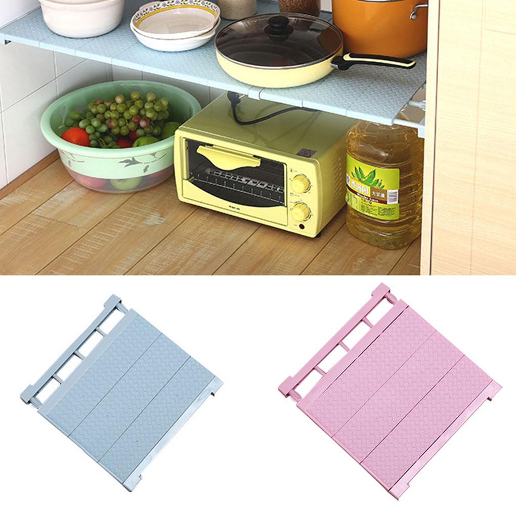 Adjustable Closet Organizer Storage Shelf Wall Mounted Kitchen Rack Space Saving Wardrobe Shelves Cabinet Holders