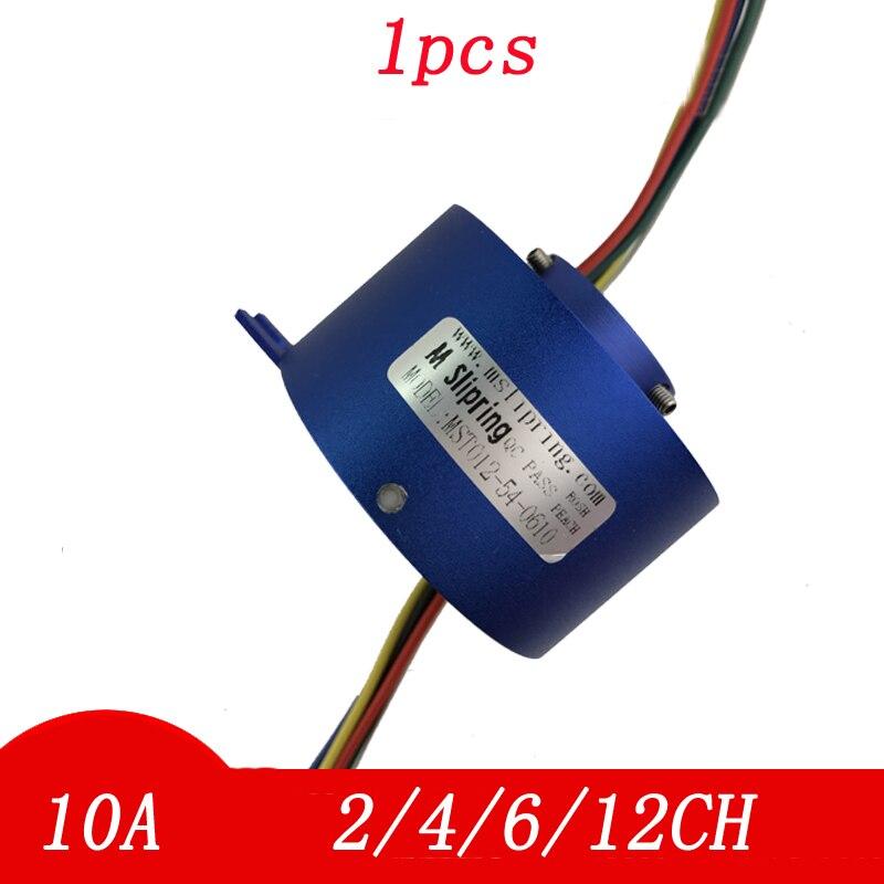 oco girando conector comum escova elétrica coletando slipring