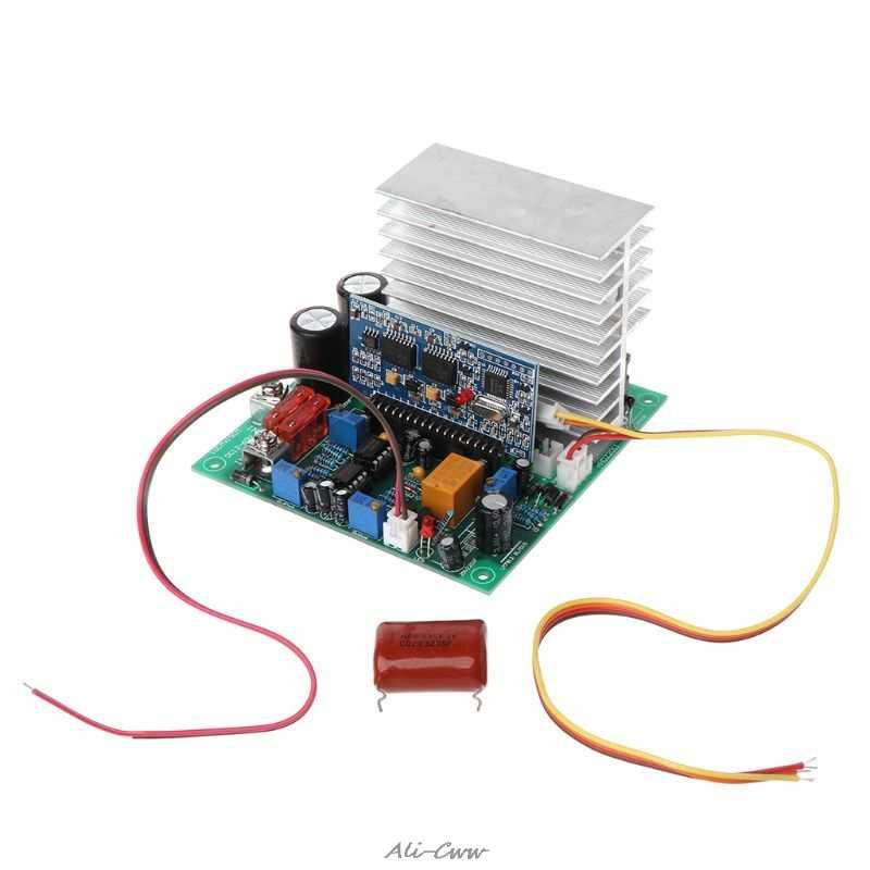 نقية شرط موجة تردد الطاقة لوحة محول التردد 12/24/48 فولت 600/1000/1800 واط لوحات الانتهاء DIY بها بنفسك