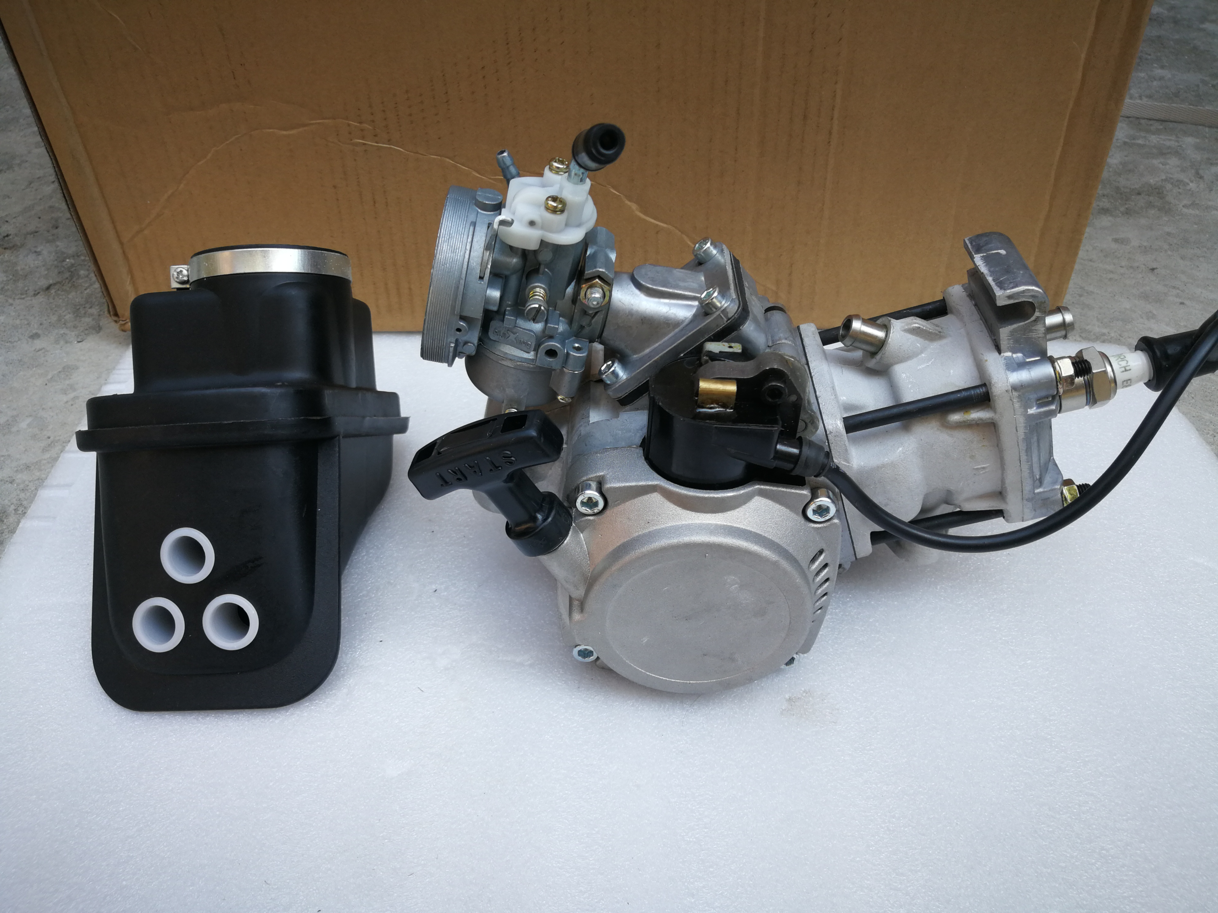 Motorcycle 40cc Engine Bike Starter Cooled Manual 911scooter Oem Pocket Polini Motor Clutch Puller Water Output Mini 39cc