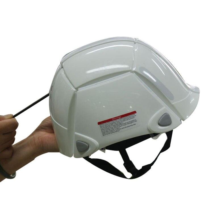 Wantai New Style Folding Outdoor Riding Helmet Folding Bicycle Helmet Equipment Folding Mountain Bike Helmet|Ear Protector| |  - title=