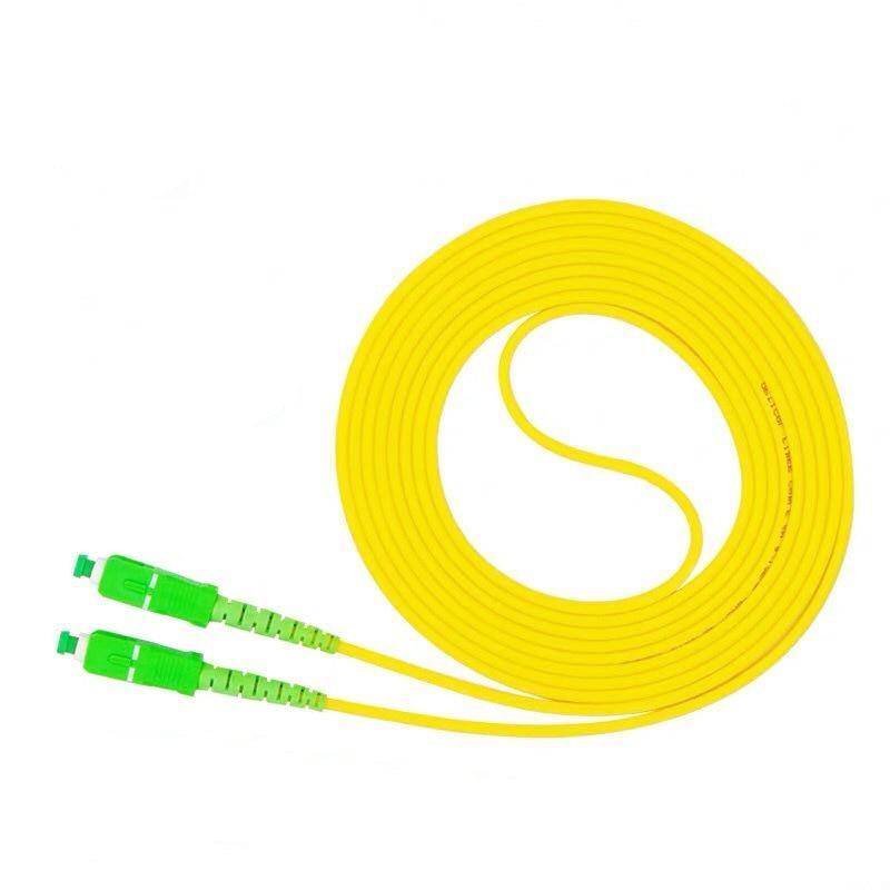 10PCS/bag SC/ APC-SC/ APC Simplex Mode Fiber Optic Patch Cord
