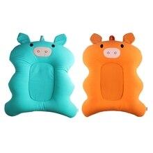 Bathtub-Pad Infant 0-6M Cushion-Seat Shower-Bed Security-Protection Anti-Slip Newborn-Baby