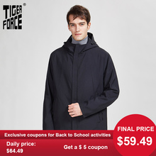 TIGER FORCE 2020 New spring Men's Jacket Quality Medium-Long