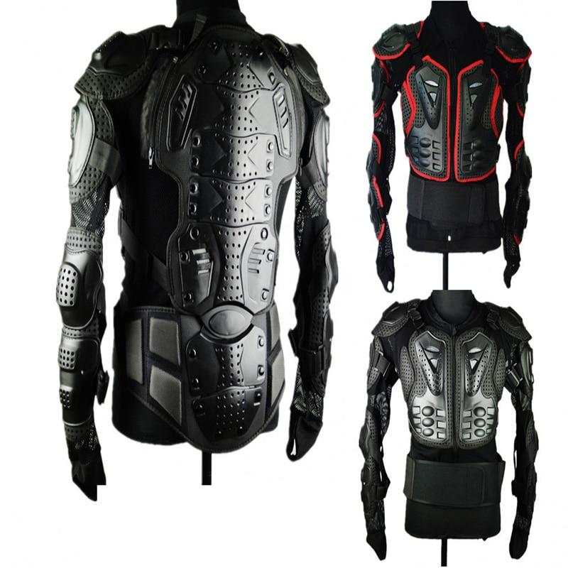 Veste de moto veste d'équitation de moto armure complète pour les hommes Protection de la poitrine de la colonne vertébrale