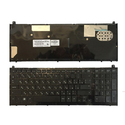 Nowa rosyjska klawiatura dla HP probook 4520 4520S 4525S 4525 z czarne oprawki RU klawiatura laptopa