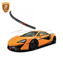 Real Carbon Fiber McLaren Front Bumper Lip 540C-570S modified novitc style front lip car front lip bumper refitting general small enclosure front bumper carbon fiber automotive products front lip adhesive strip