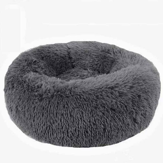 Panier دردشة مستديرة قابل للغسل سرير كلب لينة بيت قطة الحيوانات الأليفة سرير للكلاب منزل القط Haustiere الدردشة Panier طويل أفخم سرير كلب كلب كلب