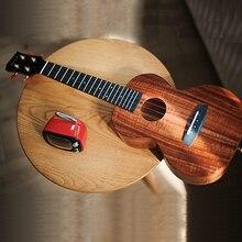 Enya Ukulele K1 Solid Koa Ukelele 23inch 26inch small guitar concert Tenor with Bag 4 String Guitar Musical Instruments