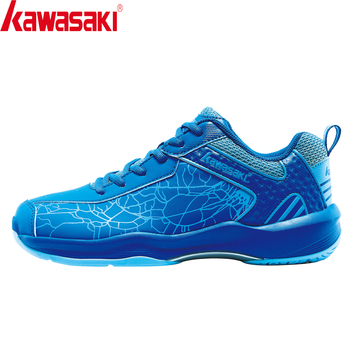 Kawasaki Badminton Shoes Sneakers Mens Anti-Slippery Breathable Man Women Athlete Indoor Sports Shoes for Badminton K-081L