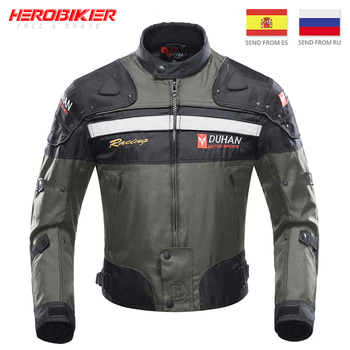 Motorcycle Jackets Motocross Off-Road Racing Jacket Motorcycle Protection Moto Jacket Motorbike Windproof Protective Gear duhan motorcycle jackets motocross off road racing jacket motorcycle protection moto jacket motorbike windproof protective gear