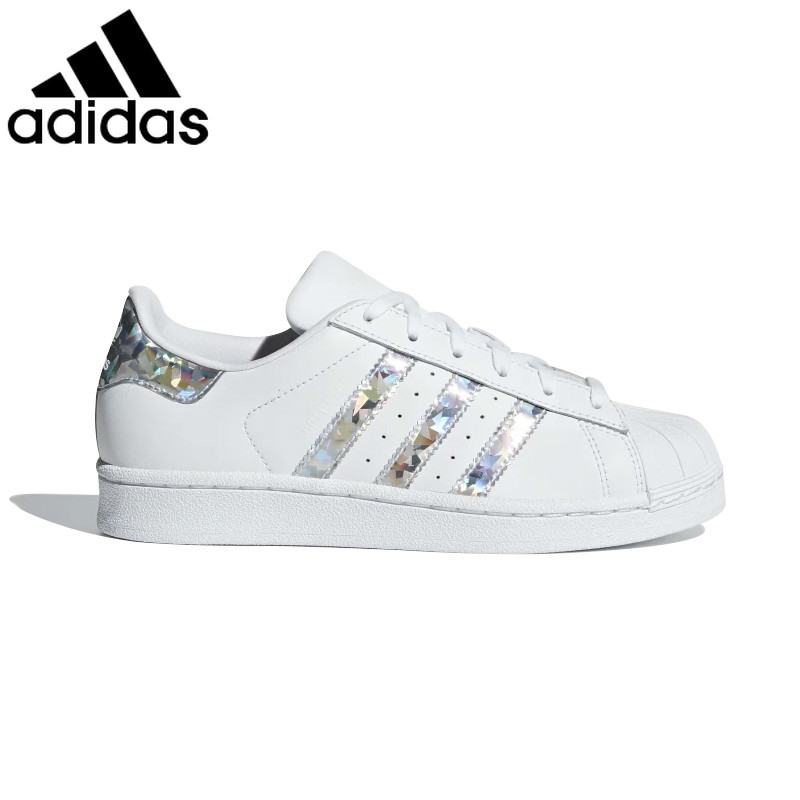 Original authentic <font><b>Adidas</b></font> <font><b>superstar</b></font> <font><b>unisex</b></font> skateboard shoes classic outdoor casual shoes wear-resistant 2019 new listing EG3396 image