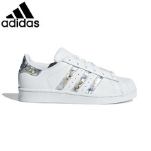 Original authentic Adidas superstar unisex skateboard shoes