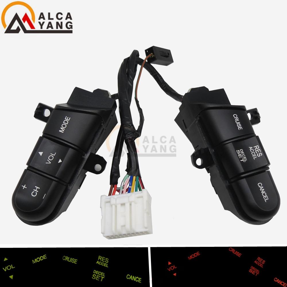 Malcayang Volante Interruttore di Controllo Audio/Pulsante Per Honda Civic 06-11
