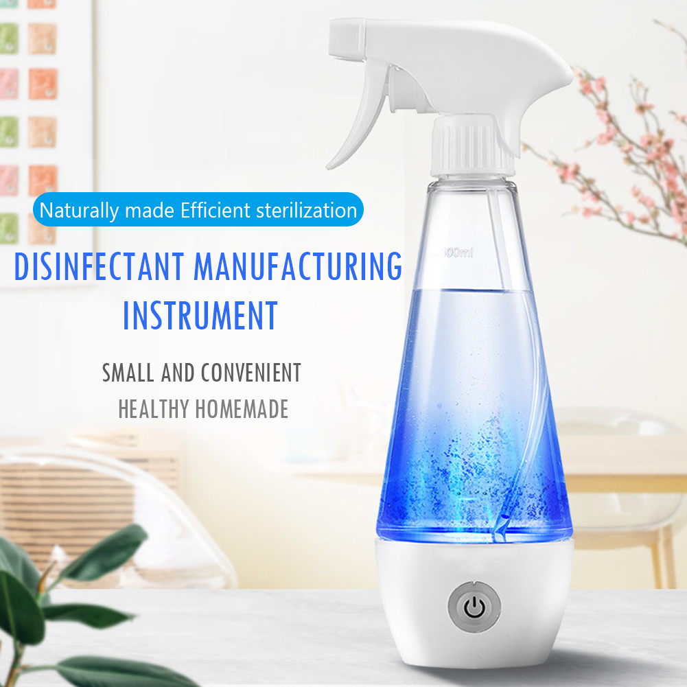 300ml Hypochlorous Acid Water Disinfectant Machine Maker Sodium Hypochlorous Generator Household Sterilization Liquid Machine