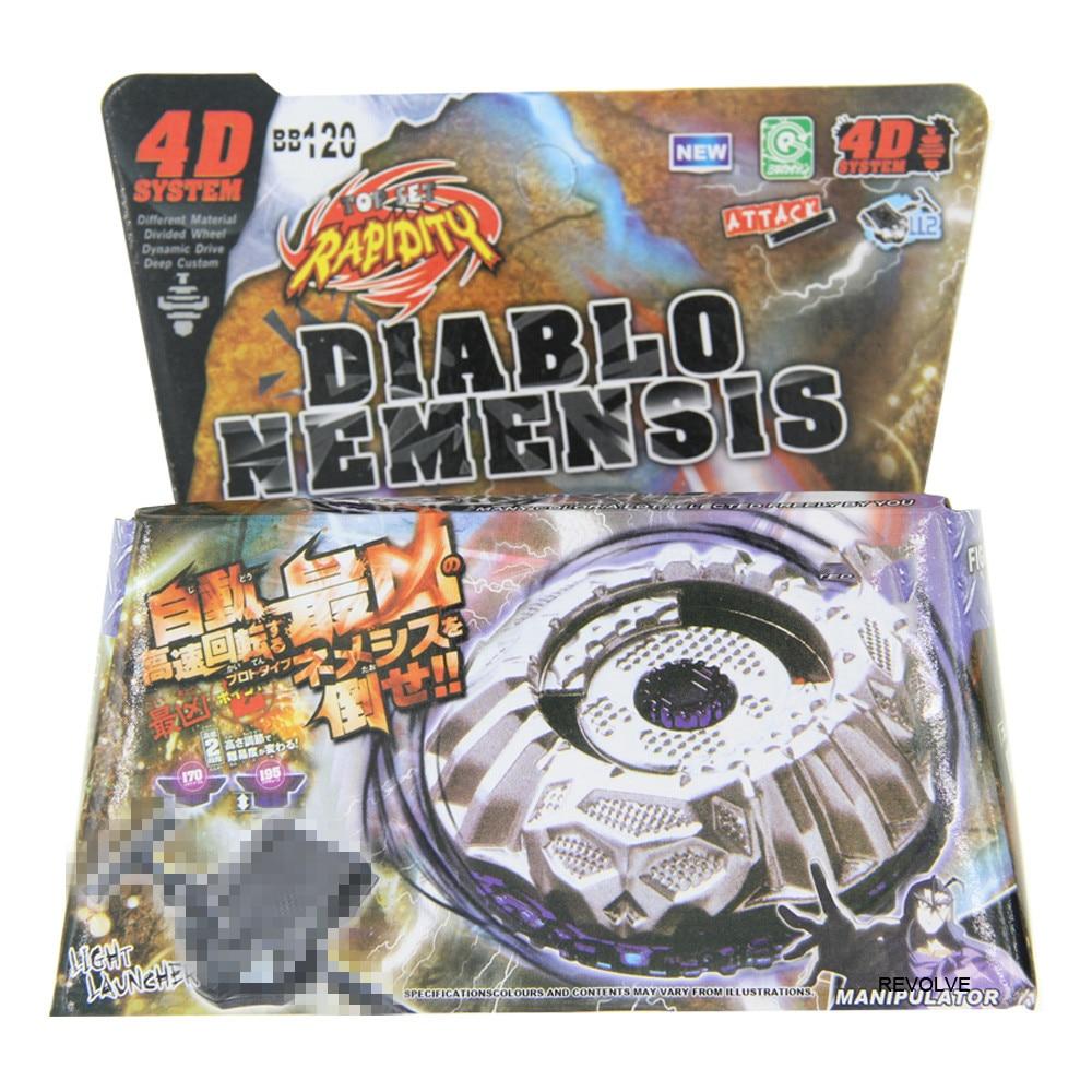 16 шт./лот Bayblade BB118 Фантом Орион B: D 4D система+ пусковое устройство - Color: BB120