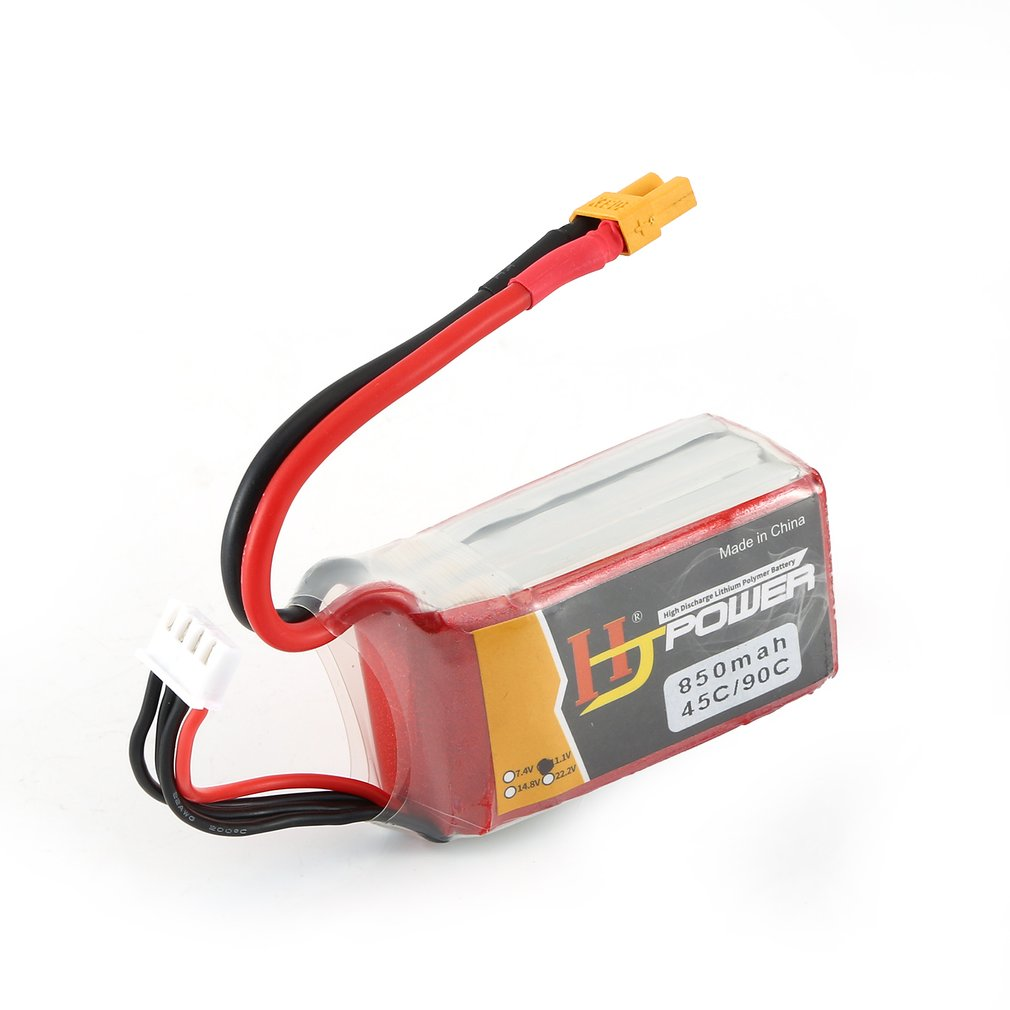 7.4V/11.1V 850MAH/1000MAH 45C 2S Lipo Battery XT30/JST Plug Rechargeable For RC Racing Drone Helicopter Car Boat Model