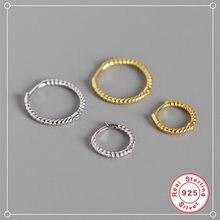 Roxi простые маленькие серьги кольца для женщин с переплетенными