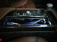 Für Volvo S90 V90 2017-2019 ABS Carbon Faser Konsole Getriebe Panel Konsole Getriebe Shift Panel Abdeckung Trim Innen zubehör LHD