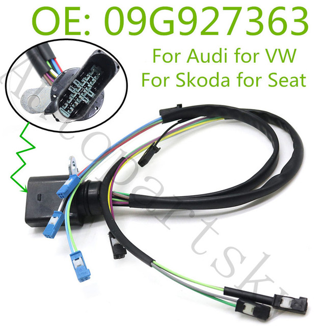 $ 41.29 Good Quality 14 pins Internal Harness Wiring 09G 6 Speed Auto Transmission Gearbox 09G927363 00002161 For Volkswagen for  Audi