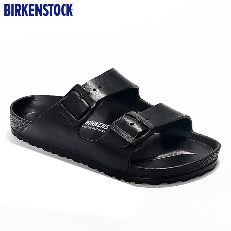 BIRKENSTOCK  Beach Slippers  Men's Shoes  Anti-Slippery  Sports Shoes Women Light Weight  Sandalias Mujer Para Playa