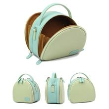 Bolsa de armazenamento de couro pu, para fujifilm polaróide instax mini 9 8 + 7s 25 50s saco protetor universal câmera, 70 90