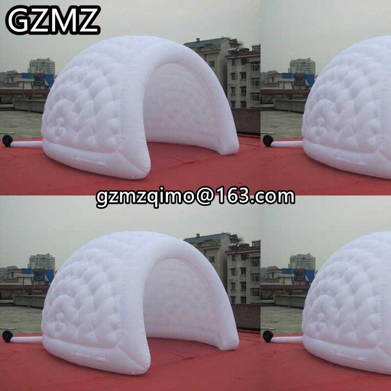 MZQM Овальный сценический надувной навес эллиптический большой надувной шатер Обложка для наружных мероприятий реклама шоу приют