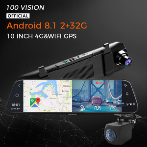 4G 1080P Car DVR Android 8.1 10