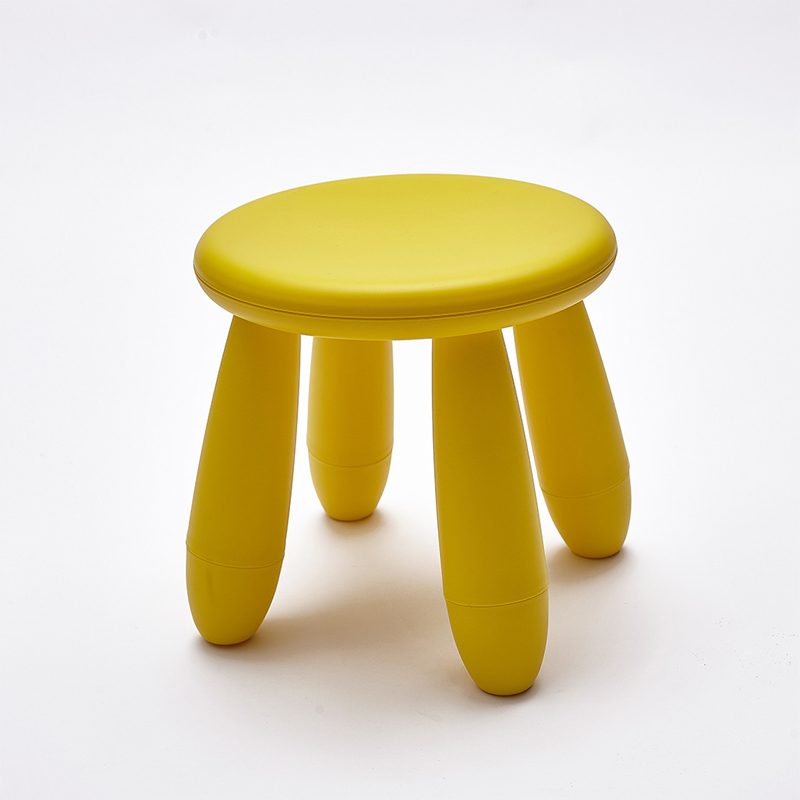 2020 New Children's chair Pouf Poire Taburetes Nordic style  Chair plastic Stools Stool Shoes Furniture Containing Modern