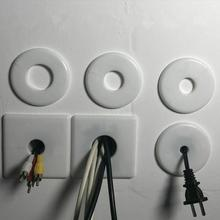 Hole-Cover Furniture Wall-Wire Air-Conditioning Plastic Office Pipe-Plug for Home Hotel