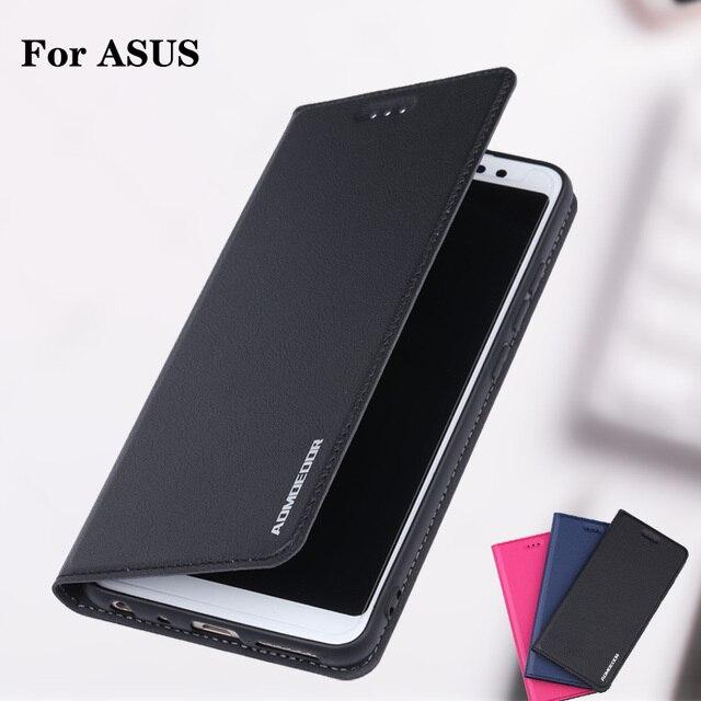 Asus Zenfone ZB601KL ZB602KL Leather Flip Cover Case For ZE620KL ZS620KL ZB631KL ZB570TL ZA550KL ZB555KL Phone Wallet Back Cases