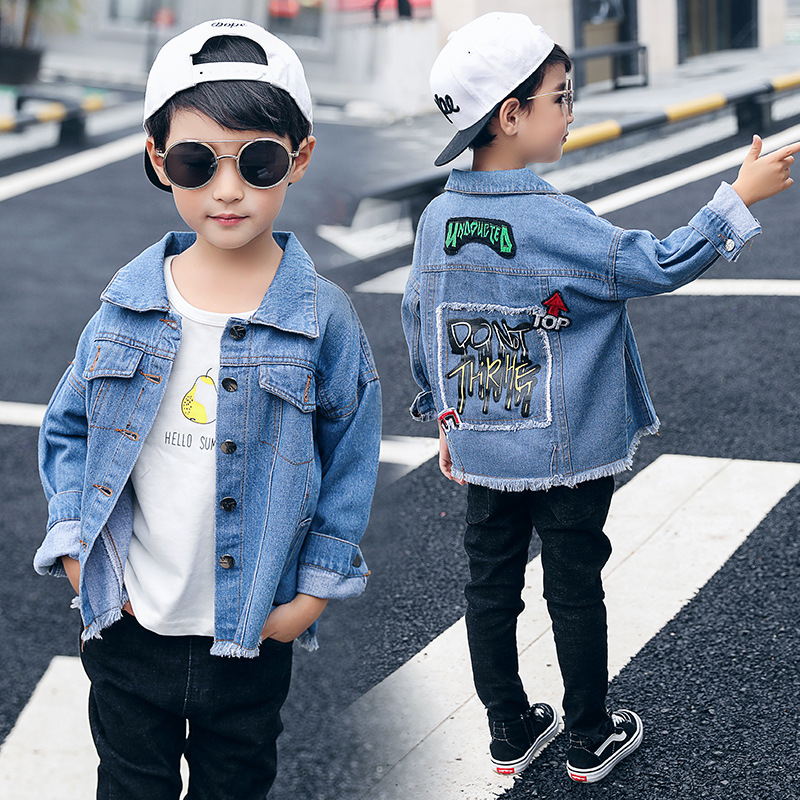 2019 new autumn boy  Kids Jackets For Boys Jean 1022