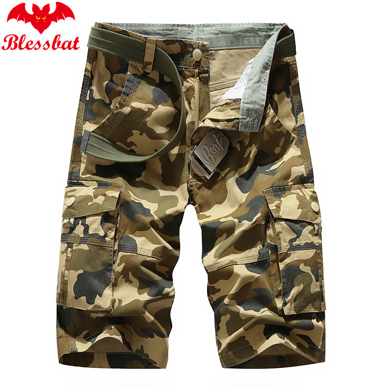 Multi-pocket Summer Men's Shorts Tactical Shorts From Men's Cotton Army Casual Shorts Loose Up To Knee Shorts