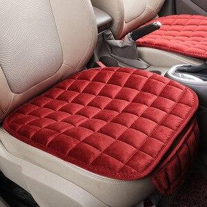 Image 5 - Universale Caldo di Inverno Auto Cuscino del Sedile di Copertura Anti slittamento Anteriore Sedia Sedile Traspirante cuscino del Sedile Auto Pad di Protezione Coperture per Le Auto