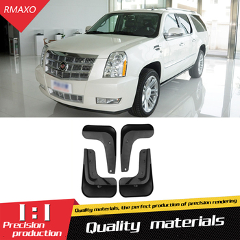 For Cadillac Escalade 2007-2014 Mudflaps Splash Guards Front With the color and rear Mud Flap Mudguards Fender Modified special