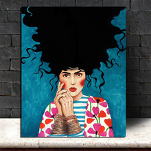 Girl Poster Vintage Wall Art Canvas Posters And Prints Canvas Painting Decorative Pictures For Office Living Room Home Decor poster vintage wallpaper wall art canvas posters and prints canvas painting decorative picture for office living room home decor