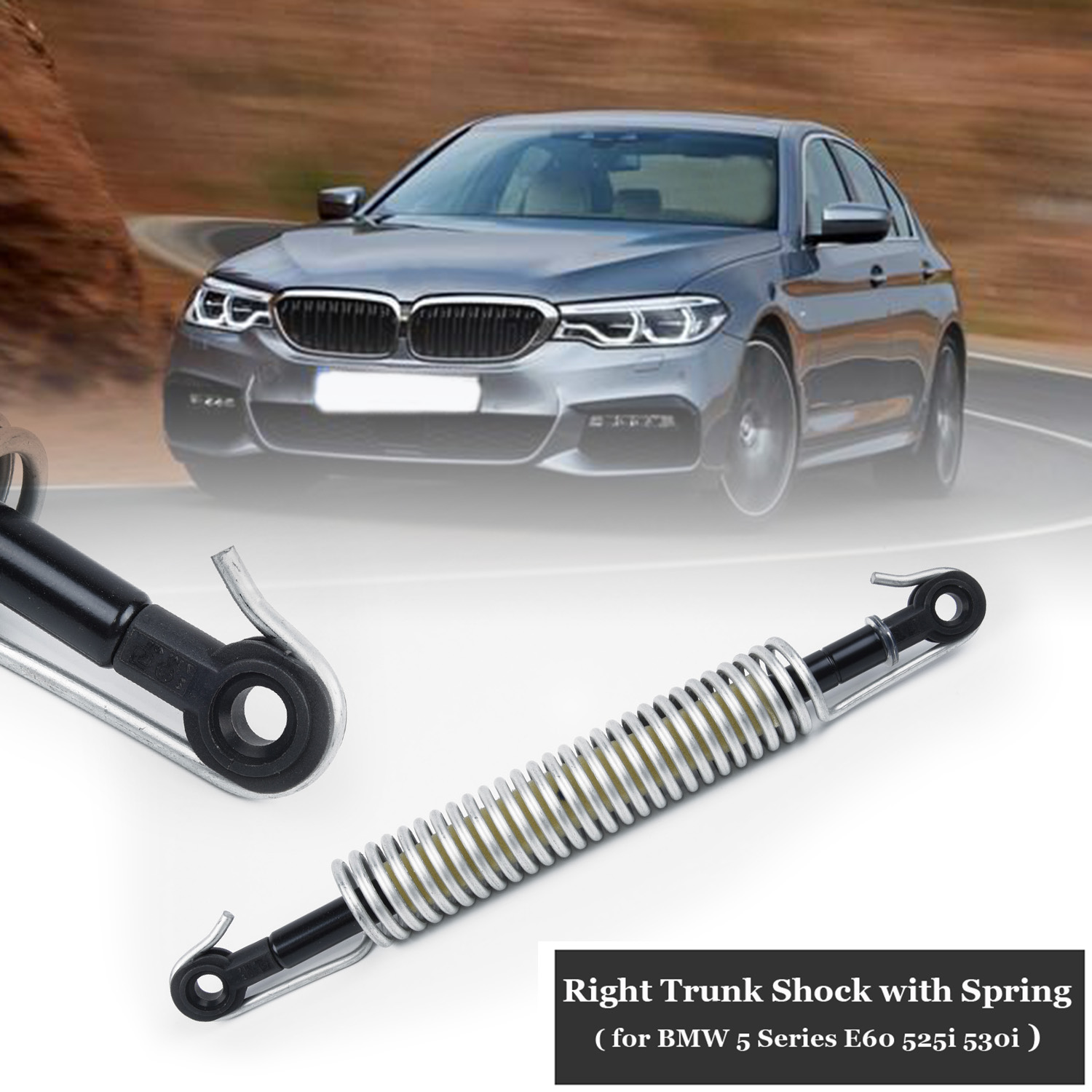 Spring W/ Shock Absorber Rear Trunk Lid Holder 51247141490 For BMW 5 SERIES E60 Right Trunk Shock With Spring For BMW Car.