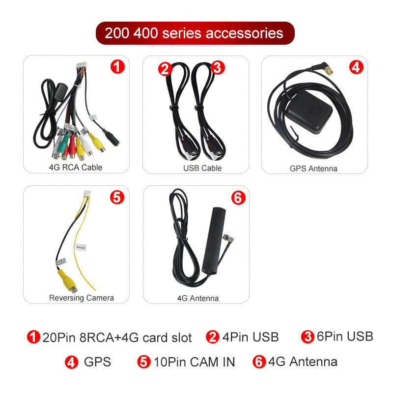 Mekede Auto Head Unit Stereo Kabelboom Kits Compatibel Voor Xy Auto Android Oplossing Interface # CA4919