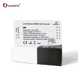 Image 1 - Gledoptoジグビースマートホームled rgbww ledストリップと互換性エコープラスジグビー 3.0 ハブsmartthings DC12 24V led
