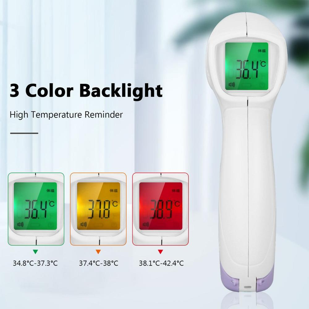 2020 Non-Contact Infrared Human Body Thermometer Home Hand-Held Digital Thermometer Temperature Measurement Meter