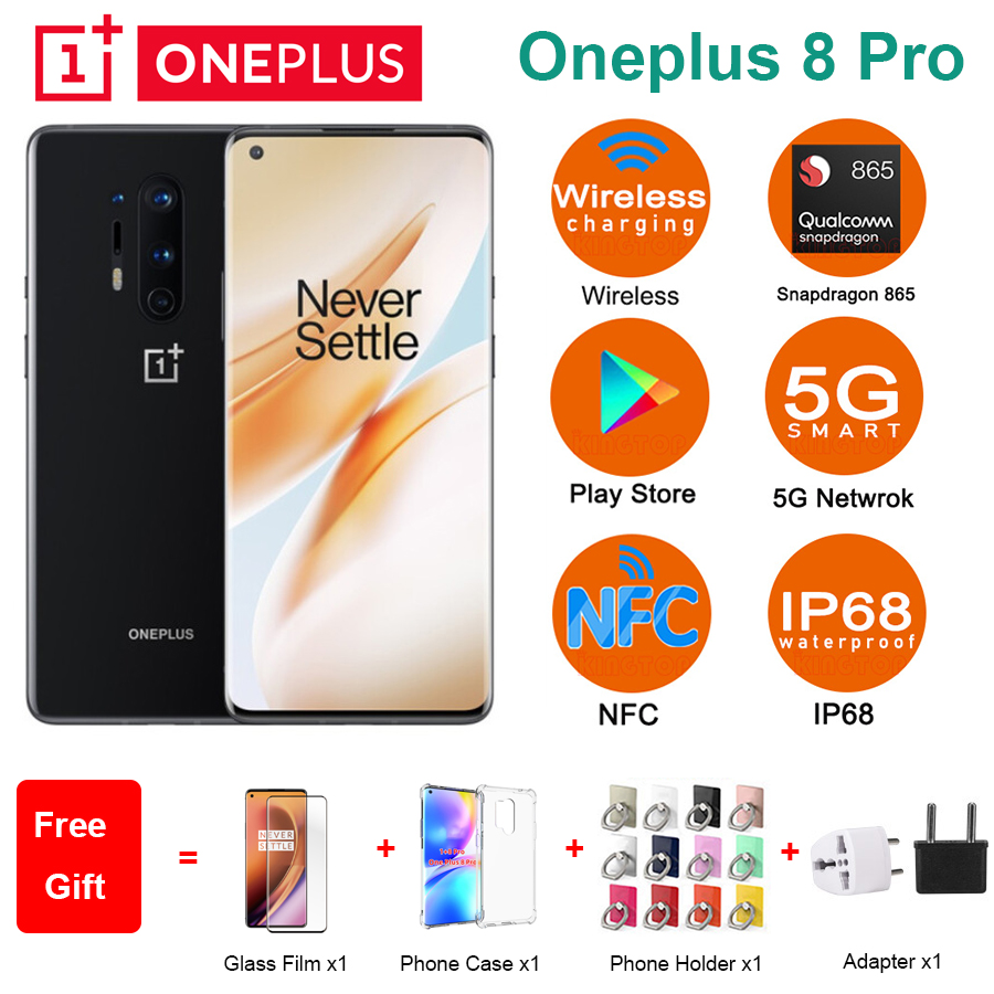 New Oneplus 8 Pro 5G Mobile Phone 6.78