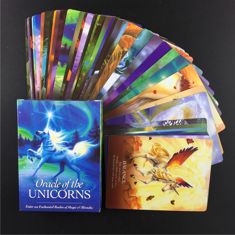 Hot Full English  Oracle   Cards Deck Mysterious Tarot Cards Guidance -divination Fate Board Game Toy