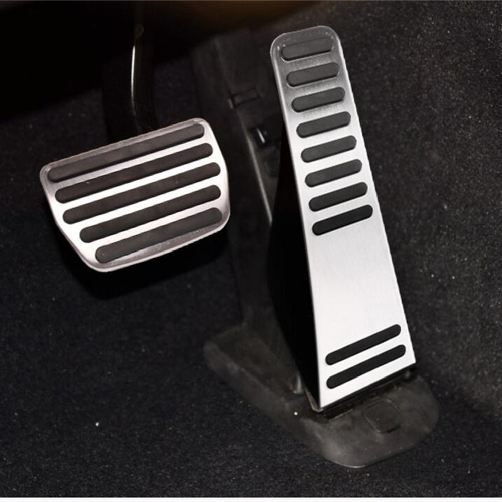 Car Accessories Accelerator Gas Brake Modified Pedal Pad for <font><b>Volvo</b></font> XC90 V90 S90 V90 2015 <font><b>2016</b></font> 2017 <font><b>XC60</b></font> 2018 AT Sticker Pedals image